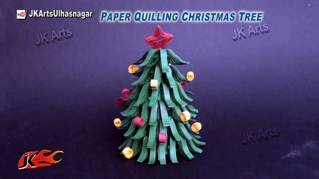 Paper Quilling Christmas Tree Diy How To Make Christmas