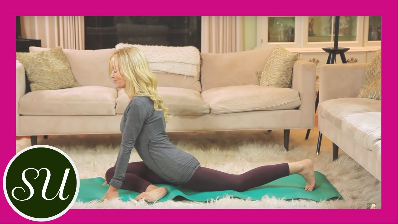 Yoga Hip Opener: How to practice Pigeon Pose and stretch ...