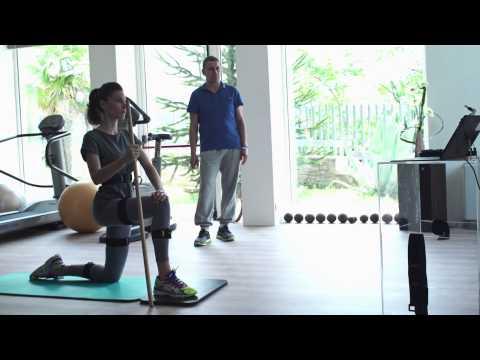 Riablo - biofeedback exercise to empower motor control and coordination