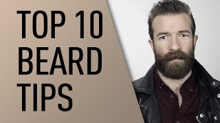Top 10 Tips for Growing a Beard | Jeff Buoncristiano
