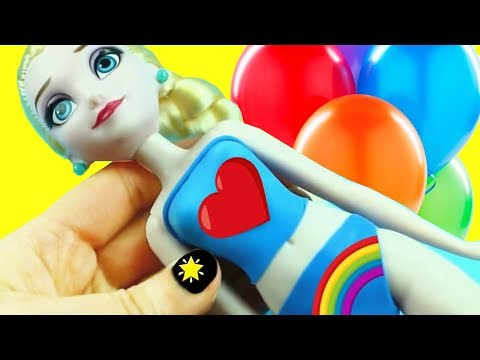 30 DIY Balloon Clothes - How to Make Barbie Clothes with Balloons  - simplekidscrafts