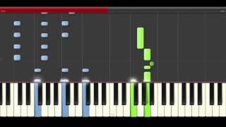 Muse Dig Down Piano Midi tutorial Sheet app Cover Karaoke