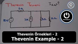 Elektrik Devre Analizi   Thevenin Teoremi ( Ders 2 )
