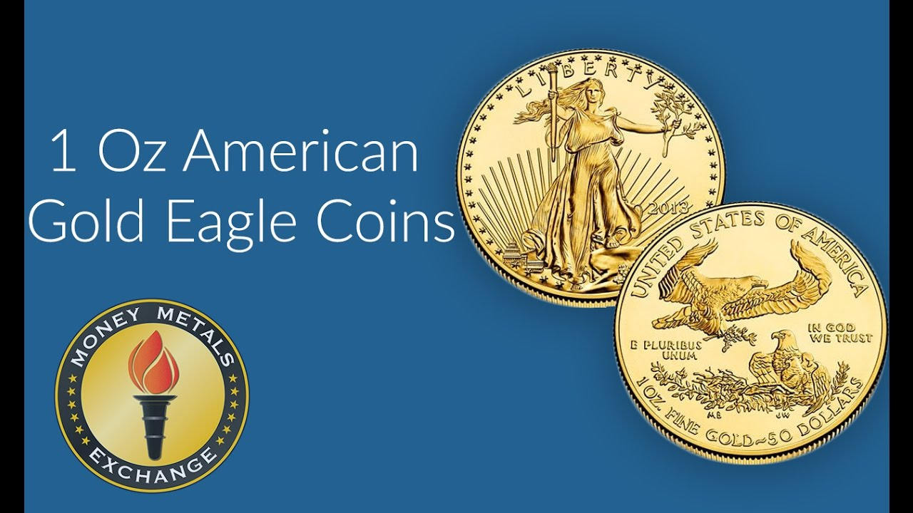 1 Oz Gold American Eagle Coins