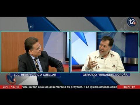 Gerardo Fernandez Noroña En Noti 12 Durango