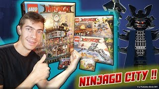 J'AI LE PLUS GROS SET du Film LEGO® Ninjago™: Ninjago City !!! + 2 autres [Unboxing - FR - HD]