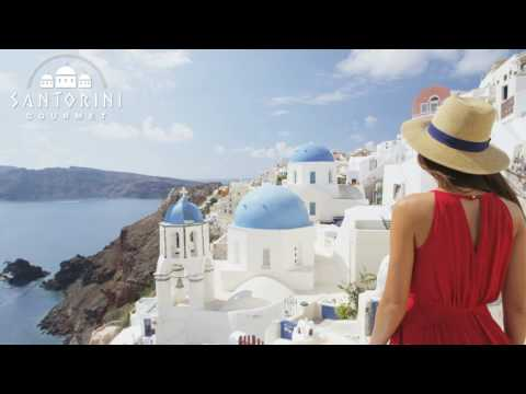Santorini Gourmet | Trip Contest | Greece, Rocabella Santorini, Imerovigli HD, Aerial Luxury