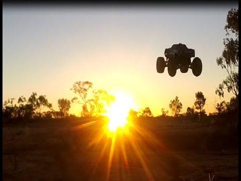 Traxxas X Maxx With KIRK MORTON, AUSTRALIA