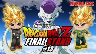 ROBLOX-Dragon Ball Z-Final Stand-#13-we went to NAMEK and we faced the FREEZA