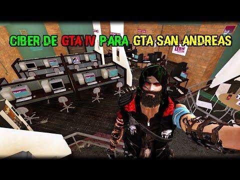 ★ GTA SA - CIBER CAFE DE GTA IV (2019) ★