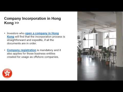 Why Open an Offshore Company in Hong Kong