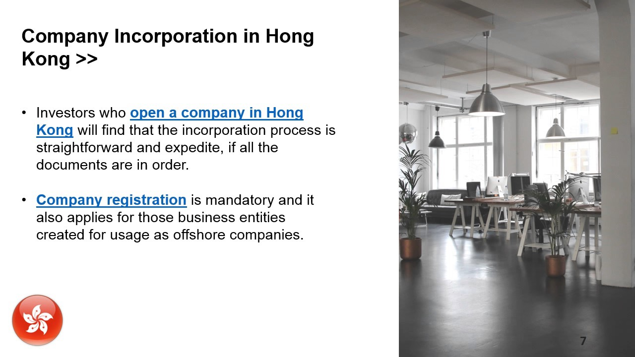 Why Open an Offshore Company in Hong Kong?