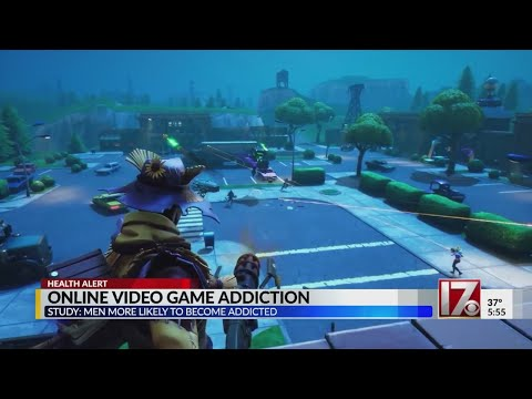 Study: Men more likely to become addicted to online video games