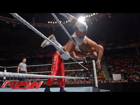 The Great Khali vs. Bo Dallas: Raw, July 14, 2014