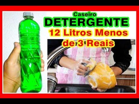 12 LITROS de DETERGENTE por MENOS de 3 REAIS com 2 PRODUTINHOS/Elisangela Evaristo