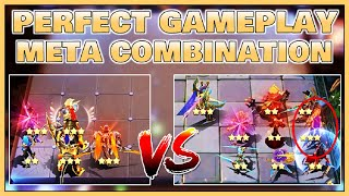 PERFECT META COMBINATION GAMEPLAY | 200% WINNING STRATEGY - MAGIC CHESS TIPS & GAMEPLAY | MLBB