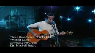 Adam Gontier - Wicked Game (Stripped) HD, CC