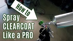 How-To Spray CLEARCOAT Like a Professional! Atom X21 and Atom X27 Review