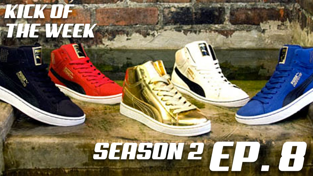 Season 2 - Episode 8 - Undefeated x Puma 24K Mid White - YouTube a42938f89a
