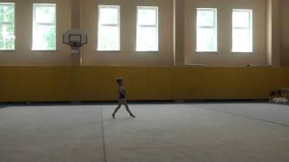 Первые соревнования Кати (художественная гимнастика)