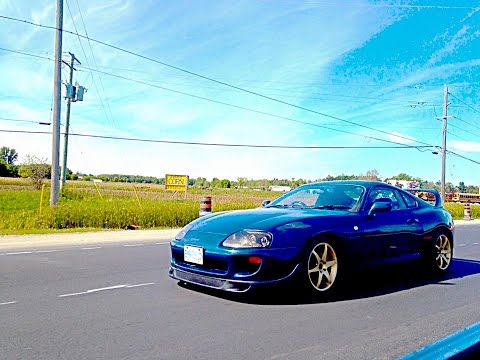 MKIV supra auto to r154 5 speed swap