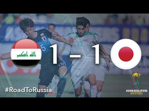 Ирак - Япония 1:1 видео