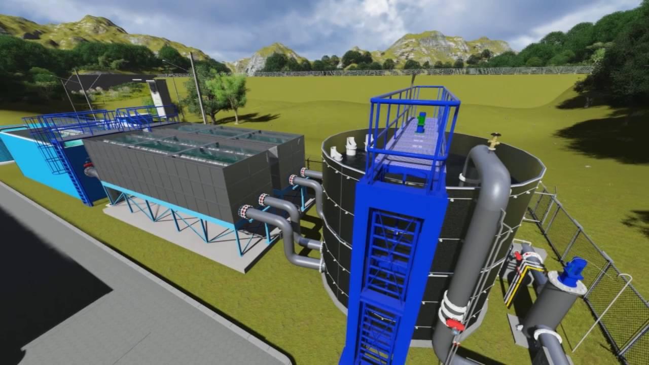 Planta de tratamiento agua potable nicargagua enacal - Tratamiento de agua ...