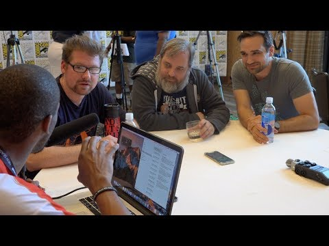 Rick and Morty INTERVIEW on (Season 3) & More! #SDCC2017: Dan Harmon, Justin Roiland, & Ryan Ridley