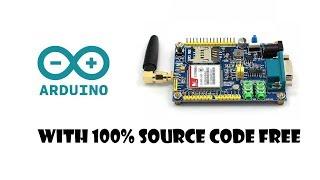 ATK-SIM800C GSM GPRS Module(SIM 900A) [with 100% free source code] Video