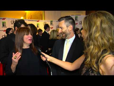 Michael Wilkinson & Judy Becker Dodge Red Carpet Interview - HFA 2013