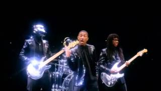 Daft Punk feat Pharrell Williams Get Lucky full video (vj alex ru) Video