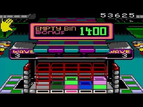 Klax Game Sample – Game Gear