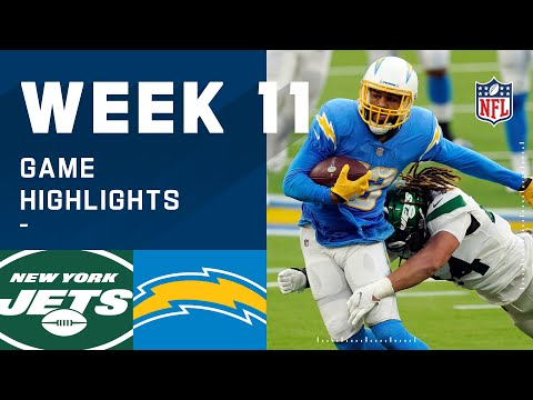[Highlight] Chargers vs Jets hightlight - Justin Herbert 366 yards 3 TD 0 INT; Keenan Allen 145 yards receiving 1 TD