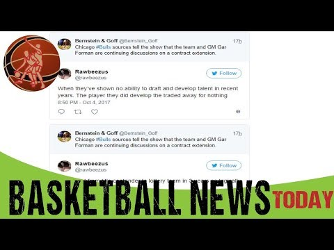 Fans react to possible contract extension of GM Gar Forman Bulls Basketball news today