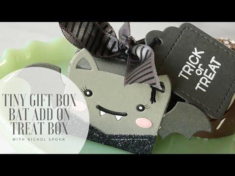 Lawn Fawn | Tiny Gift Box Bat Add On (treat boxes)