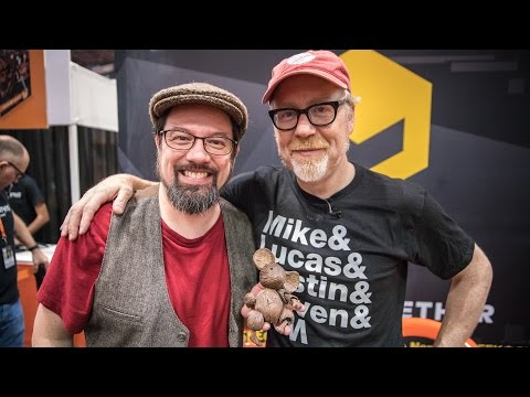 Adam Savage Meets Mouse Guard Creator David Petersen