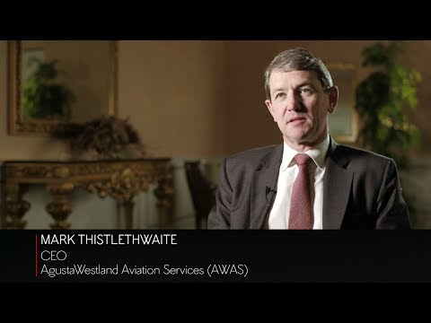 AgustaWestland Aviation Services CEO Mark Thistlethwaite on the helicopter market in the Middle East