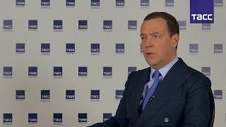 Медведев: нельзя бросать слабые регионы, но нельзя и плодить иждивенчество