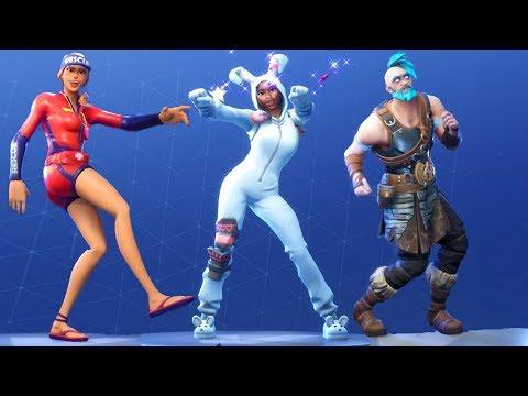 Fortnite All Dances Season 1-5 Updated To Twist