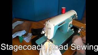 Brother 1610 Sewing Machine Demo Video