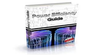 Power Efficiency Guide Review - How to generate electricity at home for free?