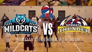 West Chester Wildcats Vs Ephrata Thunder ABA BASKETBALL