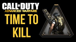 call of duty advanced warfare time to kill health cod aw gameplay commentary