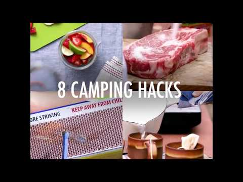 8 Camping Hacks That Are Truly Genius