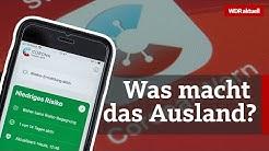 Corona-Warn-App: Welche Erfahrungen machen andere Länder? | WDR Aktuelle Stunde