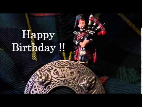 Scottish birthday youtube scottish birthday m4hsunfo