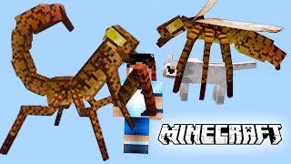 Minecraft Mods  Insectos Peligrosos Lucha Y Sobrevive  Videos De Minecraft