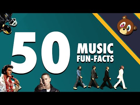 50 Music Fun-Facts You Won't Believe!