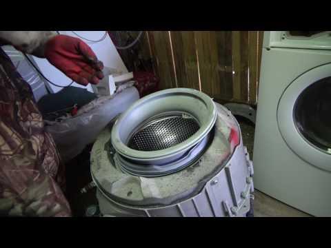Как заменить подшипники на стиральной машине занусси