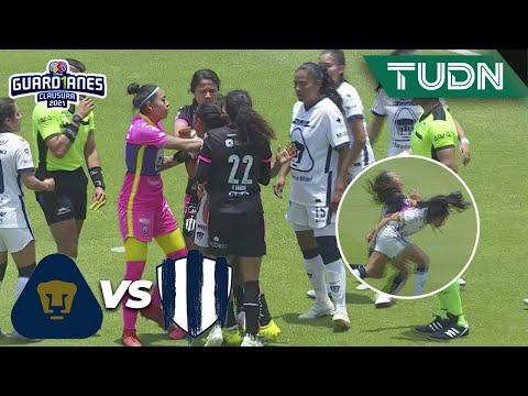 ¡HAY TIRO! Se calentó el partido  | Pumas 1-2 Rayadas | Torneo Guard1anes 2021 Liga MX Cuartos |TUDN